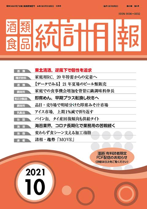The Beverage & Food Statistics Monthly